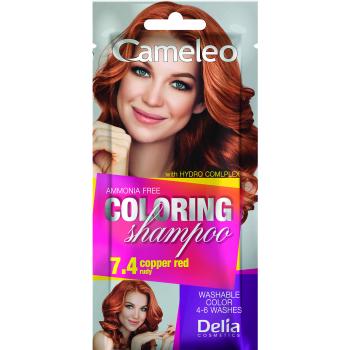Оттеночный шампунь Delia Cameleo Colouning Shampoo Copper Red