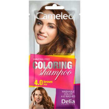 Оттеночный шампунь Delia Cameleo Colouning Shampoo Brown
