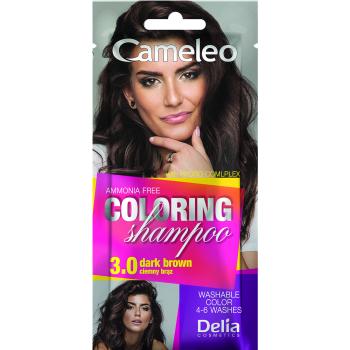 Оттеночный шампунь Delia Cameleo Colouning Shampoo Dark Brown