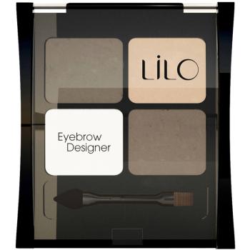 Набор для моделирования бровей LiLo Eyebrow Designer