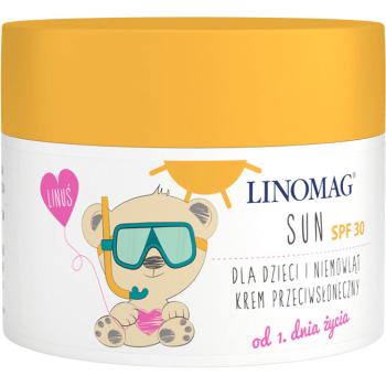 Солнцезащитный крем для детей Linomag Sun Cream SPF 30, 50 мл
