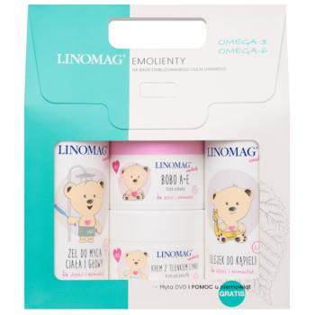 Подарочный набор Linomag (gel/shm/200ml + b/oil/200ml + b/cr/50ml + cr/50ml)