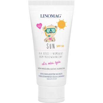 Солнцезащитный крем для детей Linomag Sun Cream SPF 50, 50 мл