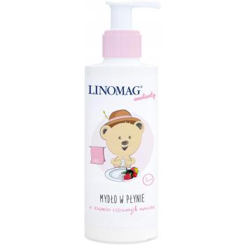 Жидкое мыло с ароматом красных фруктов Linomag 200 мл