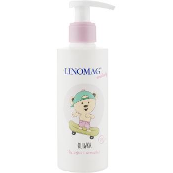 Антибактериальное жидкое мыло с аромат зеленого яблока Linomag 200 мл
