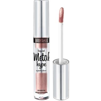 Жидкие тени для век Luxvisage Metal Hype 03 Розовый жемчуг