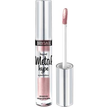 Жидкие тени для век Luxvisage Metal Hype 09 Розовый иней