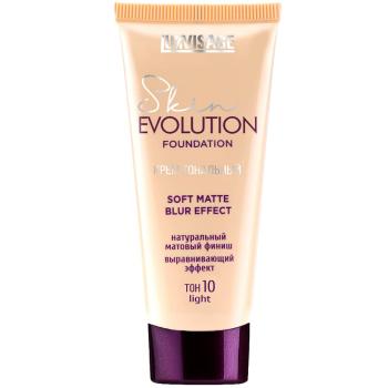 Тональный крем Luxvisage Skin EVOLUTION soft matte blur effect 10 Light