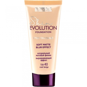 Тональный крем Luxvisage Skin EVOLUTION soft matte blur effect 40 Cool Beige