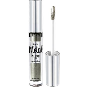 Жидкие тени для век Luxvisage Metal Hype 18 Сияющий нефрит