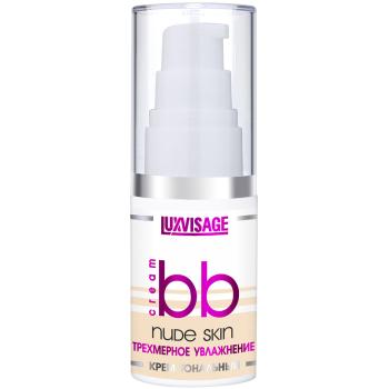 Тональный крем «Трехмерное увлажнение» Luxvisage BB Nude Skin