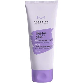 Маска для лица с фиолетовой глиной Masstige Happy Skin