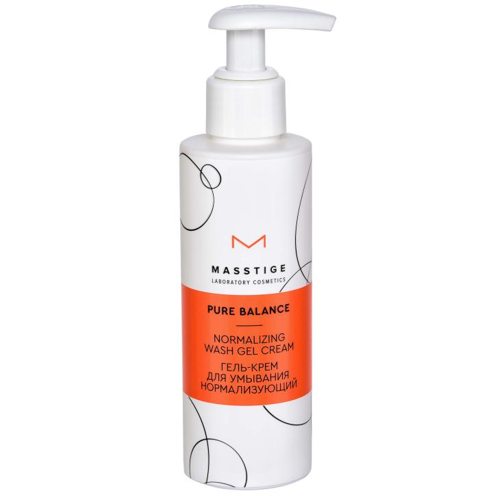 Крем-гель для умывания нормализующий Masstige Pure Balance Normalizing Wash Gel Cream
