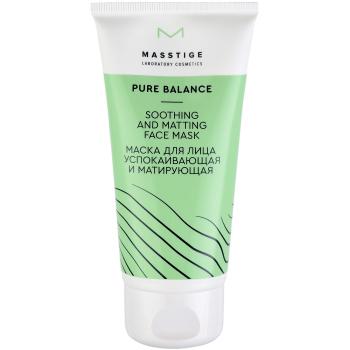 Маска для лица успокаивающая и матирующая Masstige Pure Balance