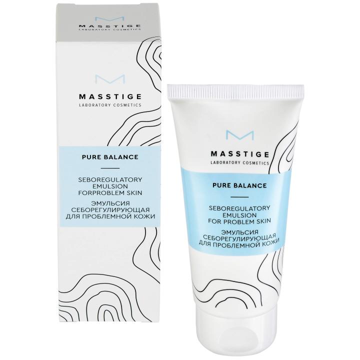 Эмульсия себорегулирующая для проблемной кожи Masstige Pure Balance Seboregulatory emulsion for problem skin