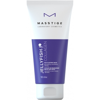 Маска для лица ночная несмываемая Masstige Jellyfish Collagen