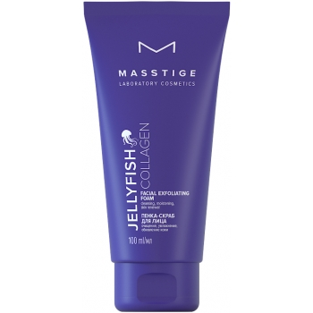 Пенка-скраб для лица Masstige Jellyfish Collagen
