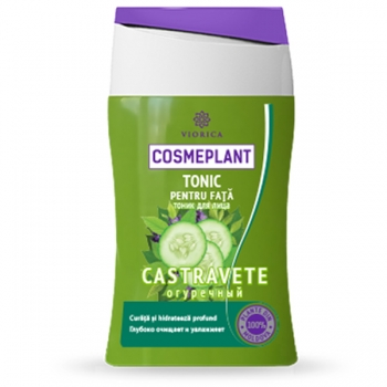 Тоник для лица для всех типов кожи (экстракт огурца) Viorica Cosmeplant 125 мл