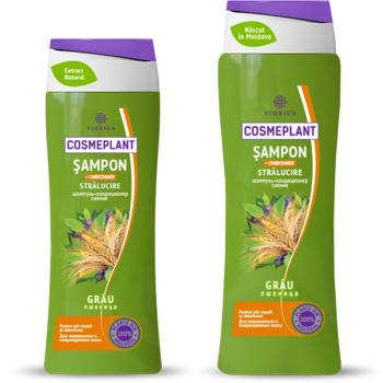 Шампунь-кондиционер Сияние (протеины пшеницы) Viorica Cosmeplant  400 мл