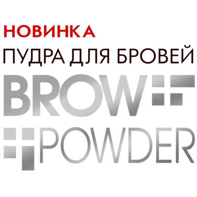 Новинка! Пудра для бровей Luxvisage Brow Powder
