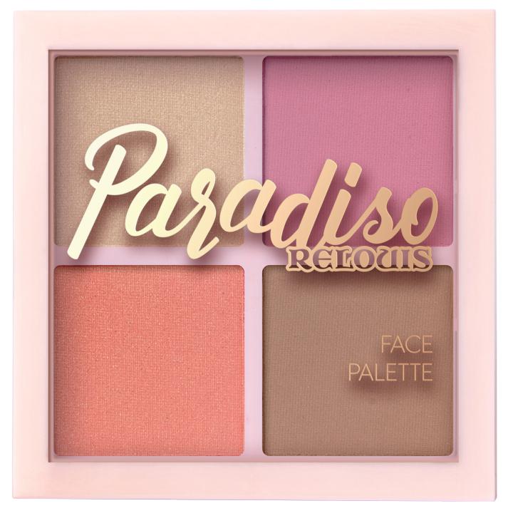 Палетка для макияжа Relouis Paradiso Sun 12 г