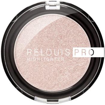 Хайлайтер для лица компактный Relouis Pro Highlighter 01 Pearl