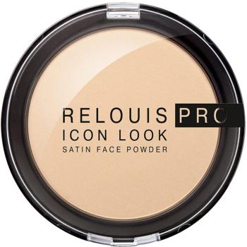 Пудра для лица Relouis Pro Icon Look Satin Face Powder 01