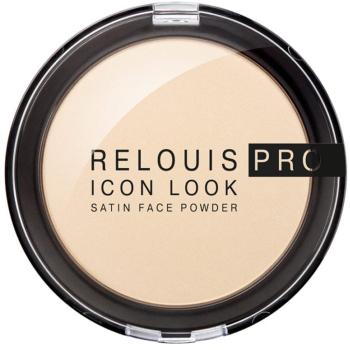 Пудра для лица Relouis Pro Icon Look Satin Face Powder 00