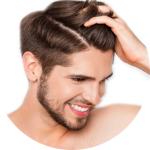 Мужская косметика для волос