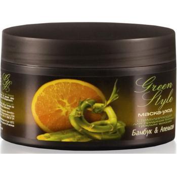 Маска-уход для волос Liv Delano Green Style Бамбук & Апельсин