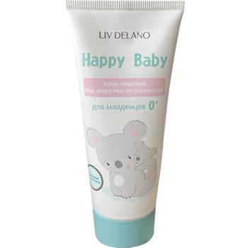 Защитный крем под подгузник от опрелостей Liv Delano Happy Baby