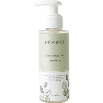 Гель очищающий для лица Monmu Cleansing Gel normalize